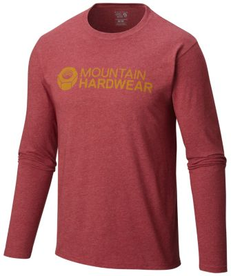 Mountain Hardwear Logo Graphic Long Sleeve T