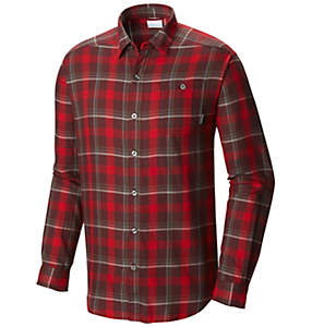 Men's Cornell Woods™ Flannel Long Sleeve Shirt - Tall