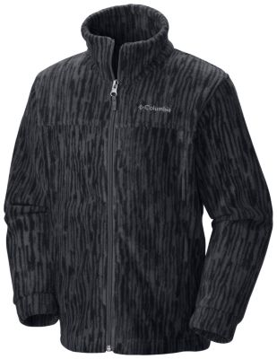 Boy's Zing™ III Printed Fleece Jacket at Columbia Sportswear in Daytona Beach, FL | Tuggl