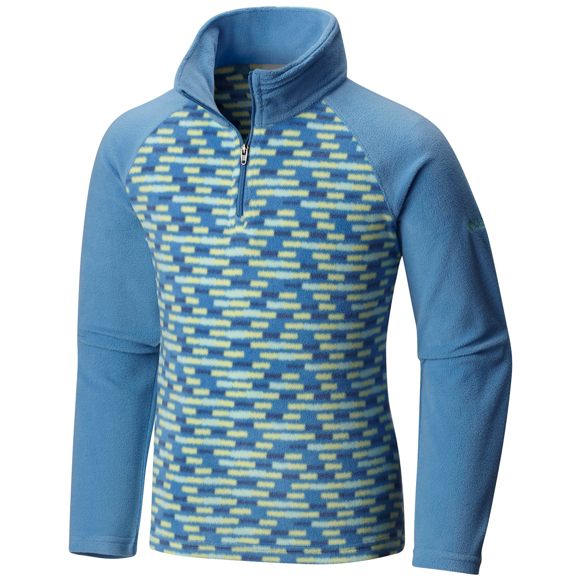photo: Columbia Glacial II Fleece Print Half Zip fleece top