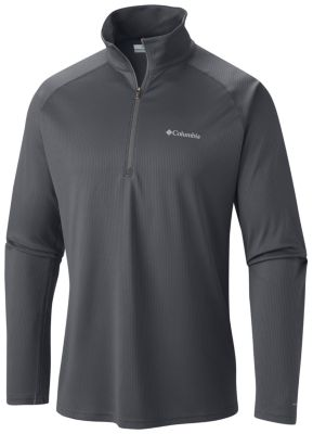 Men's Peak Racer Half Zip Pullover Sun Protection Wicking | Columbia