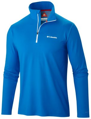 photo: Columbia Men's Trail Summit Half-Zip