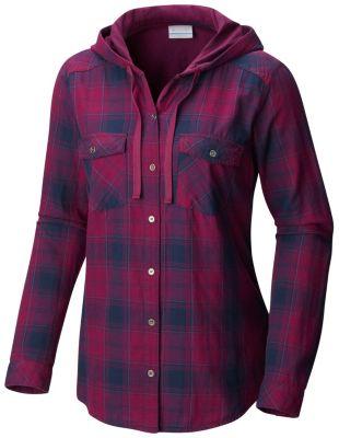 Women's Times Two™ Hooded LS Shirt - Plus Size at Columbia Sportswear in Daytona Beach, FL | Tuggl
