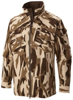 Men S Gallatin Ops Jacket Camo Wool Blend Cotton Lined Columbia Com
