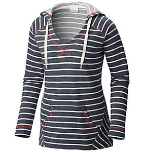 Women's PFG Tropic Haven™ Stripe Hoodie - Plus Size