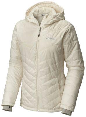 photo: Columbia Mighty Lite Hooded Plush Jacket