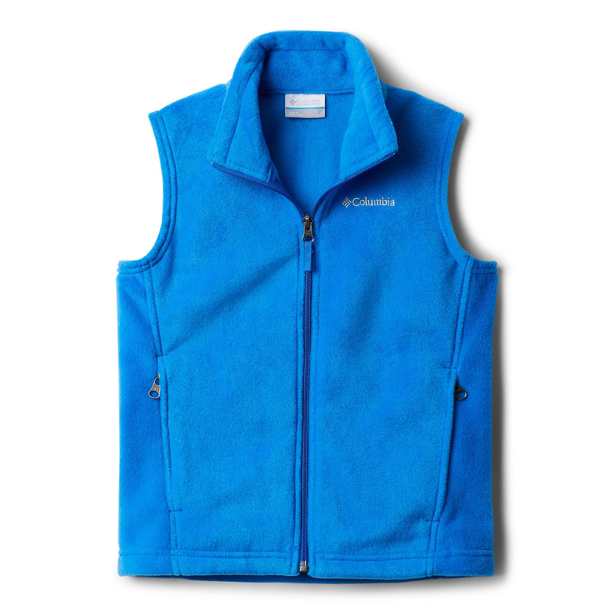 photo: Columbia Boys' Steens Mountain Fleece Vest