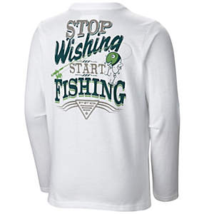 Boy's PFG Adventure On™ Graphic Long Sleeve Shirt