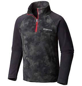 Boy's Glacial™ II Print Half Zip Fleece Pullover