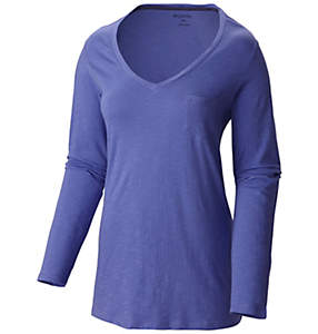 Women's Everyday Kenzie™ V Neck Long Sleeve Shirt - Plus Size