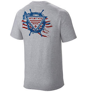 Men's PFG Flag at the Helm™ Tee