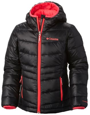 photo: Columbia Girls' Gold 550 TurboDown Hooded Down Jacket