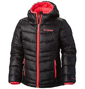 Girls Gold 550 TurboDown™ Hooded Down Jacket