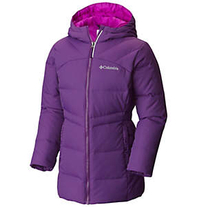 Girls' Glam Her™ Long Down Hooded Jacket