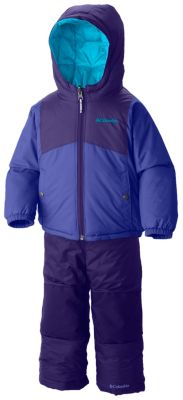 photo: Columbia Double Flake Reversible Set kids' snowsuit/bunting