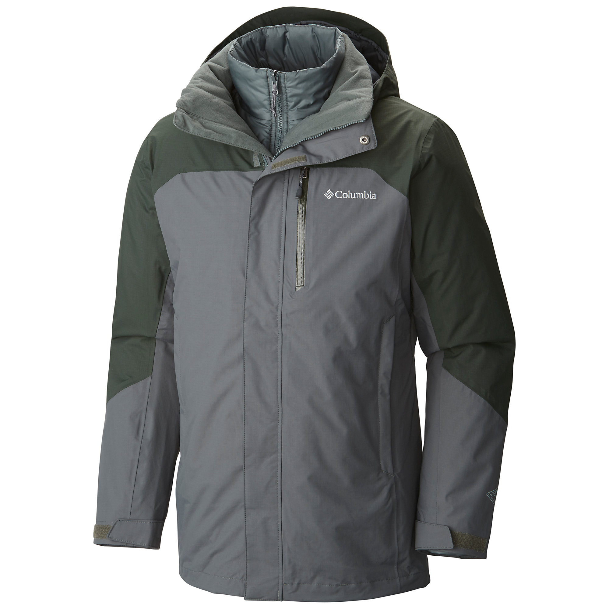 photo: Columbia Lhotse II Interchange Jacket component (3-in-1) jacket