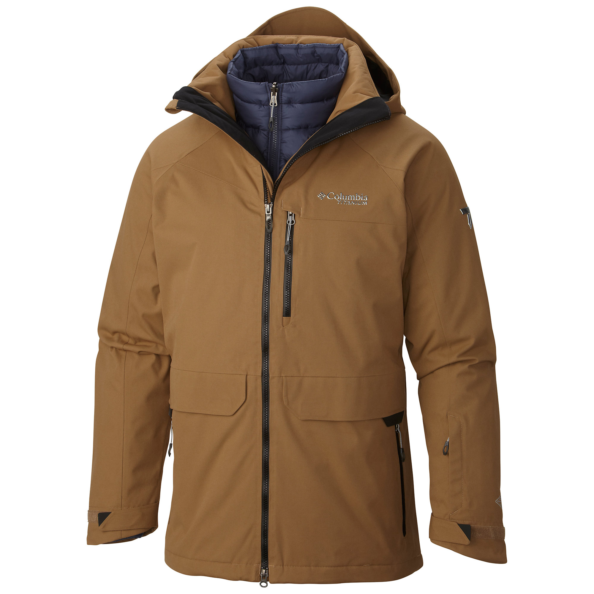 Columbia Vamoose 860 TurboDown Interchange Jacket