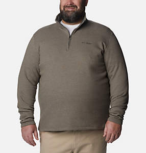 Men's Great Hart Mountain™ III Half Zip Fleece - Big