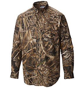 Men's Sharptail™ Camo Long Sleeve Shirt