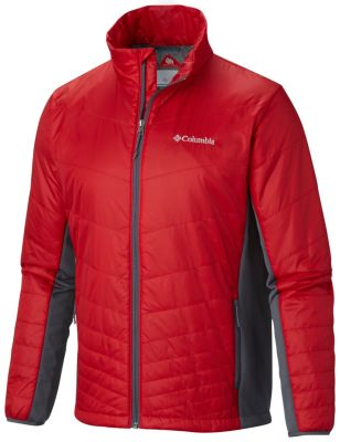 photo: Columbia Men's Mighty Lite Hybrid Jacket