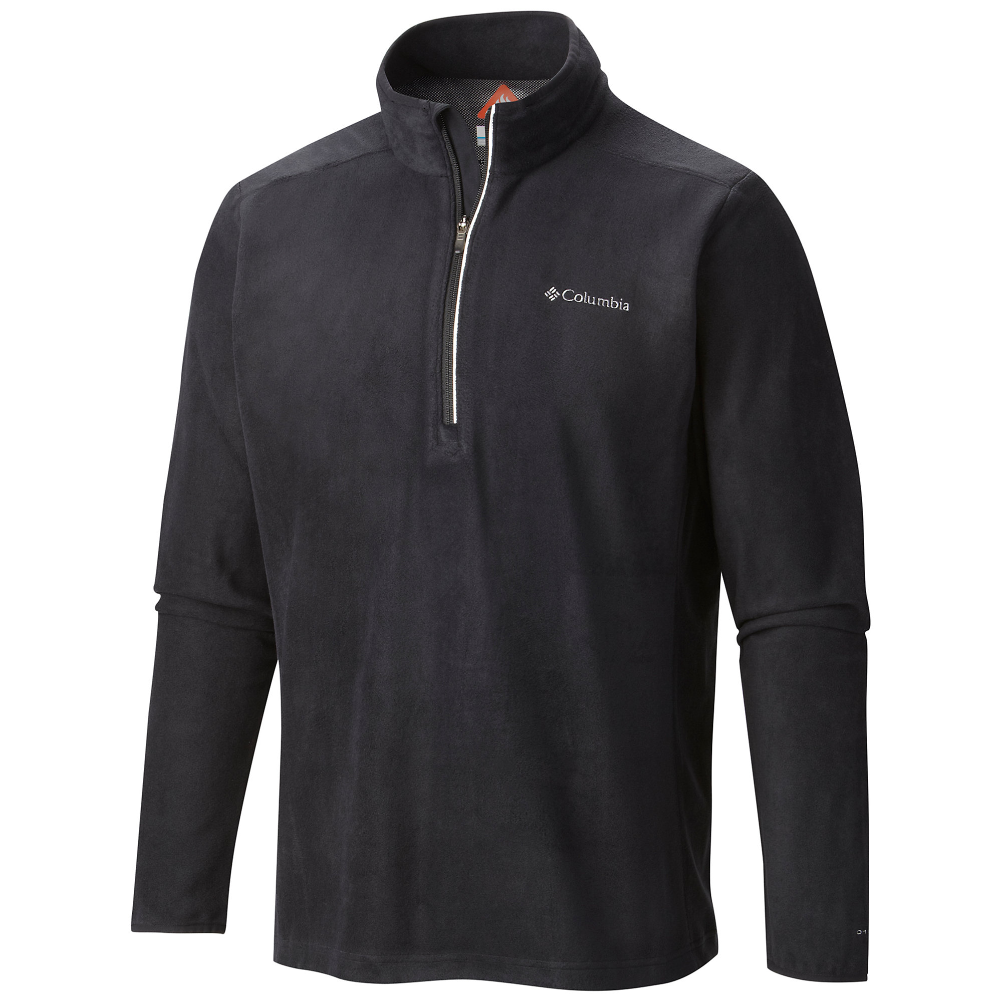 photo: Columbia Men's Blue Basin Half Zip Fleece Pullover