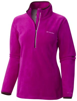 Columbia Blue Basin Half Zip Fleece Pullover