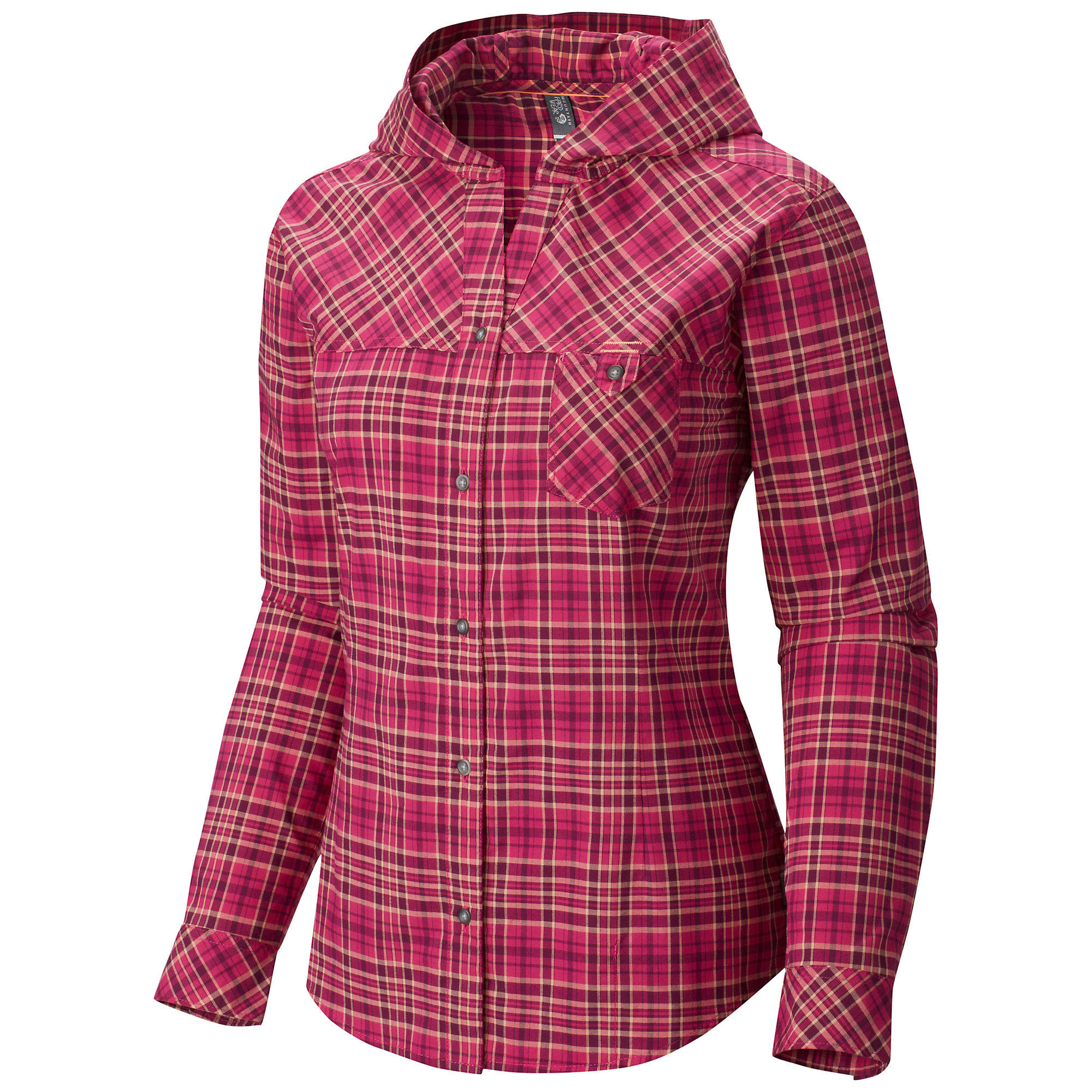 Mountain Hardwear Tahoma Hooded Flannel Long Sleeve Shirt