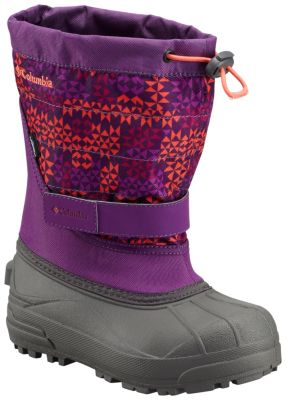 Children's Powderbug™ Plus II Print Snow Boot at Columbia Sportswear in Daytona Beach, FL | Tuggl