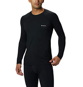 Top Midweight Stretch da uomo a manica lunga e mezza zip