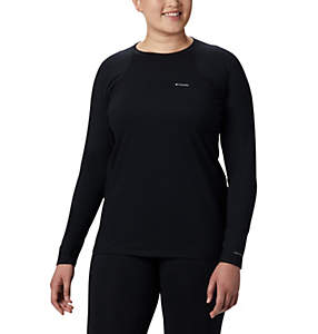 Women's Midweight Stretch Long Sleeve Shirt - Plus Size