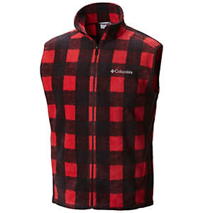 Men's Steens Mountain™ Printed Fleece Vest