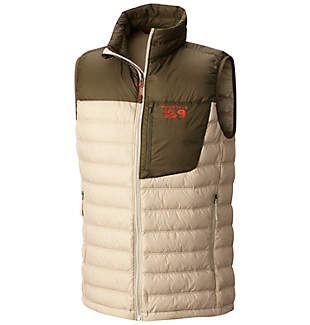 Mountain Hardwear Dynotherm Mens Down Vest (Multi Colors)