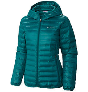 Women's Flash Forward™ Hooded Down Jacket – Plus Size