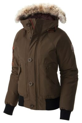 Women S Caribou Bomber Warm Insulated Water Resistant