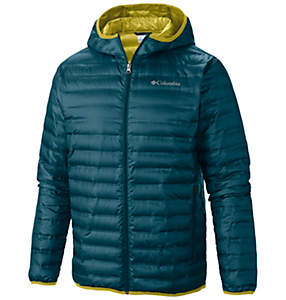 Manteau en duvet à capuchon Flash Forward™ pour homme