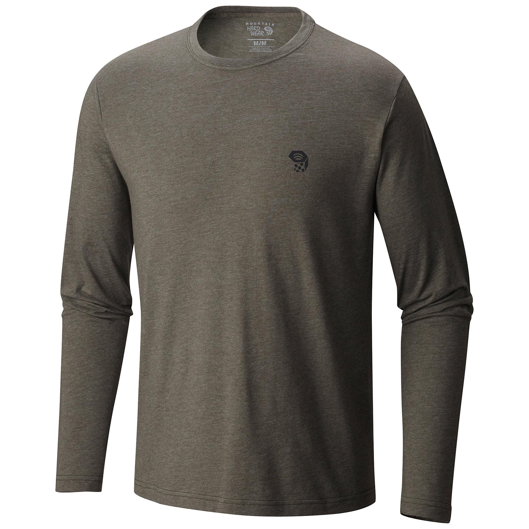 photo: Mountain Hardwear MHW Logo Graphic Long Sleeve shirt