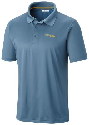 Columbia Mens PFG Low Drag Polo Shirt