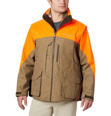 Columbia Ptarmigan  Interchange Parka    L- Brown