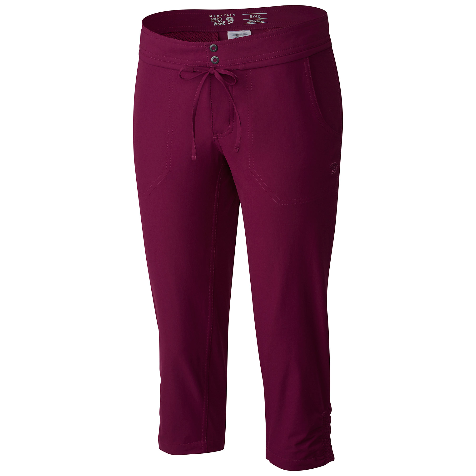 photo: Mountain Hardwear Yuma Capri hiking pant