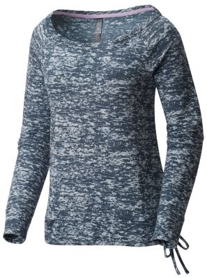 photo: Mountain Hardwear Burned Out Long Sleeve Pullover