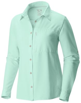 photo: Mountain Hardwear Women's Canyon Shirt Long Sleeve hiking shirt