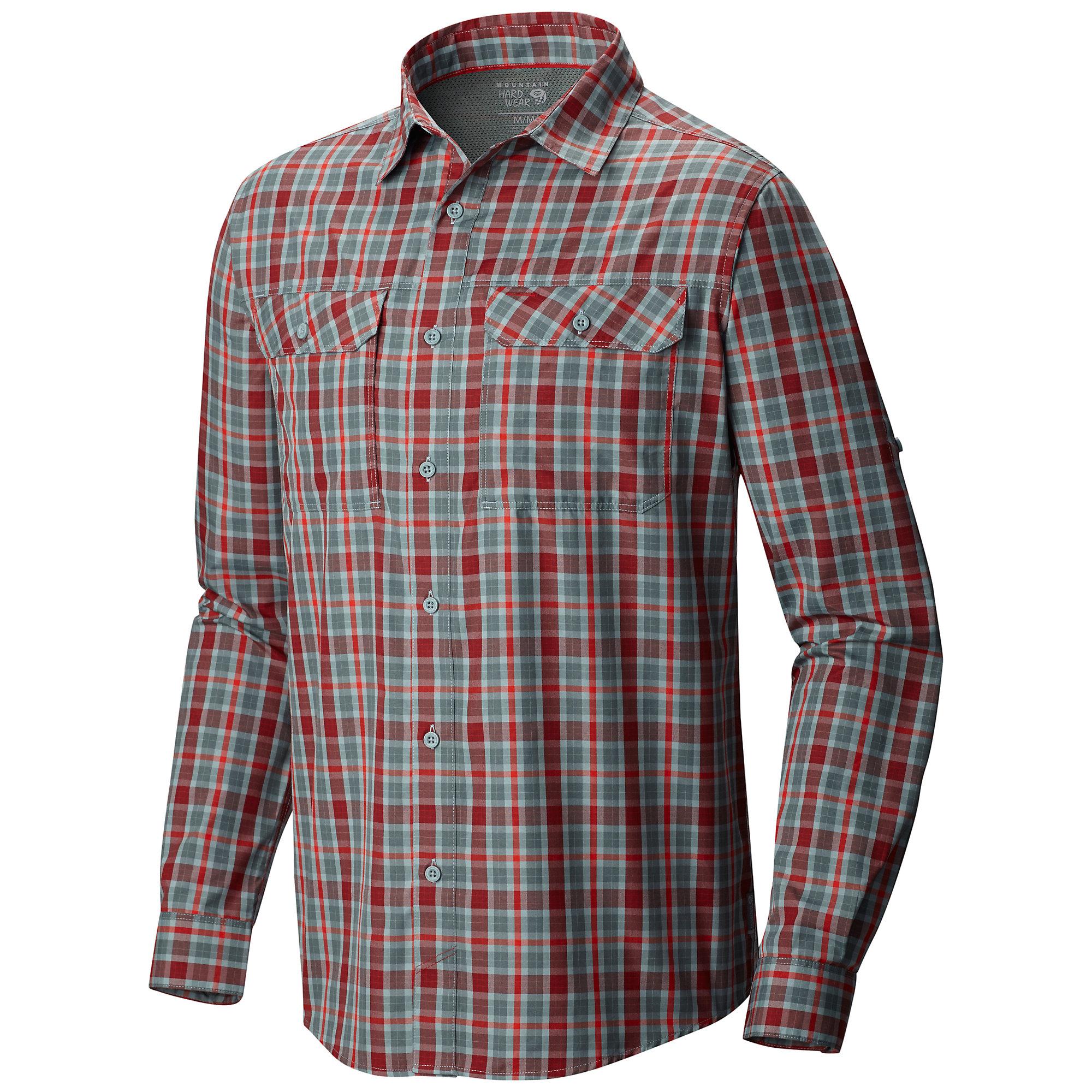 Mountain Hardwear Canyon Plaid Long Sleeve Shirt