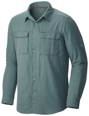 photo: Mountain Hardwear Men's Canyon Shirt Long Sleeve hiking shirt