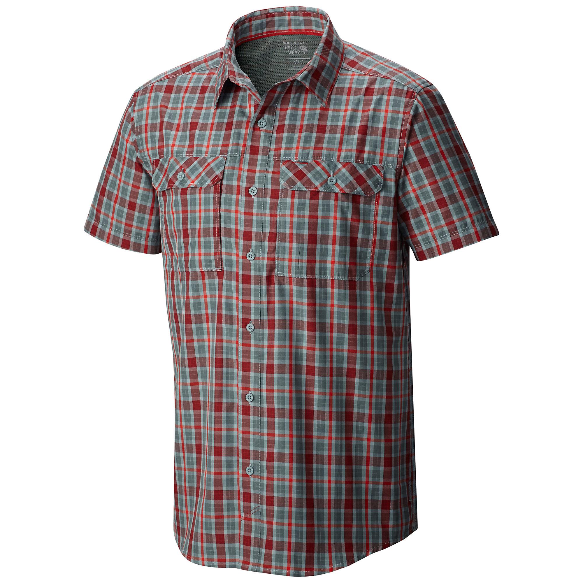 Mountain Hardwear Canyon Plaid Short Sleeve Shirt