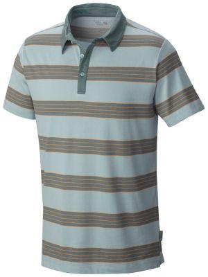 Mountain Hardwear ADL Striped Short Sleeve Polo