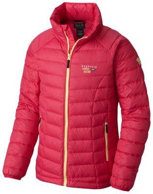 photo: Mountain Hardwear Girls' Micro Ratio Down Jacket