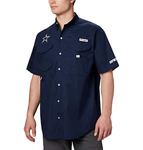 Men's PFG Bonehead™ Short Sleeve Shirt - Dallas Cowboys