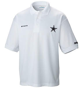 Men's PFG Perfect Cast™ Polo - Dallas Cowboys