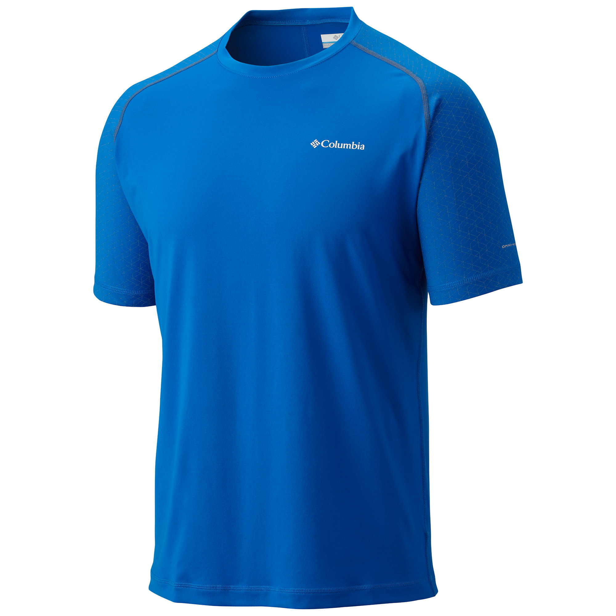 photo: Columbia Men's Trail Flash Short Sleeve Shirt