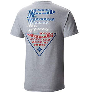 Men's PFG Americana Scales™ Short Sleeve Tee Shirt